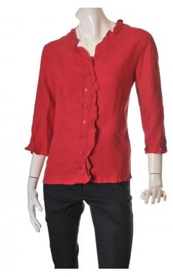 Camasa rosie Tara, panza de in, marime XL