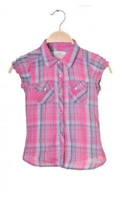 Camasa roz cambrata H&M L.o.g.g., 6-7 ani