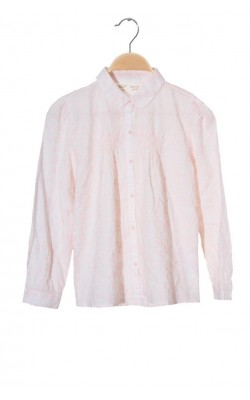 Camasa roz cu broderie Zara, 9-10 ani