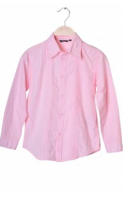 Camasa roz panou plisat Lindex, 8 ani