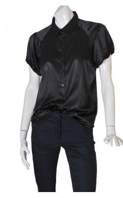 Camasa satin negru Kappahl, marime XL