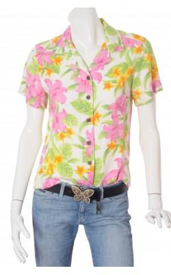 Camasa vascoza Caribbean Joe, imprimeu floral, marime M