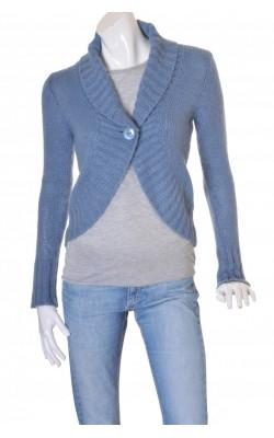 Cardigan albastru amestec mohair H&M, marime S
