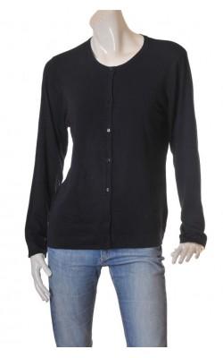 Cardigan bleumarin Kappahl, tricot fin, marime XL