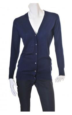 Cardigan bleumarin tricot fin Riccovero, marime M