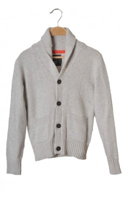 Cardigan bumbac si lana H&M L.o.g.g., 10-12 ani