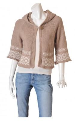 Cardigan calduros de lana Benetton, marime S