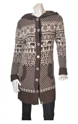 Cardigan calduros Moods of Norway, lana, marime L