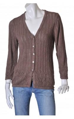 Cardigan din tricot ajurat Andrea, marime L