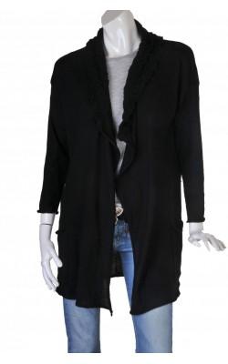 Cardigan drapat lana pura Millieu, marime XL