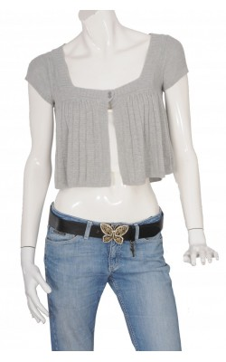 Cardigan gri Abercrombie&Fitch, marime M