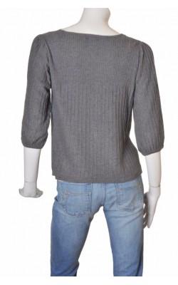 Cardigan gri tricot reiat Lindex, marime 40