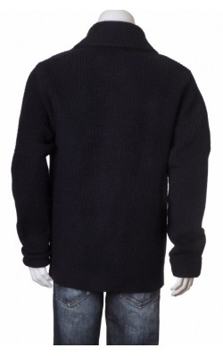 Cardigan gros lana pura Jean Paul, marime L