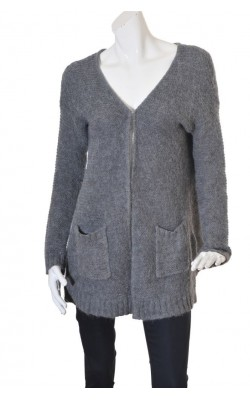 Cardigan lana alpaca Object, marime XL
