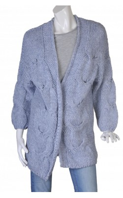 Cardigan lung Cubus, tricot gros, marime M