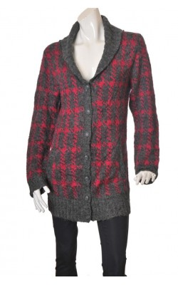 Cardigan lung Voice of Europe, marime XL
