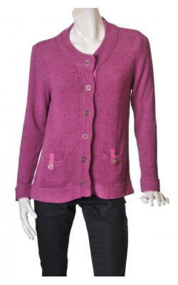Cardigan mov Folk, marime XL
