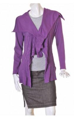 Cardigan mov tricot reiat Millieu, marime 40