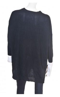 Cardigan negru dupradimensionat Noisy May, marime 46