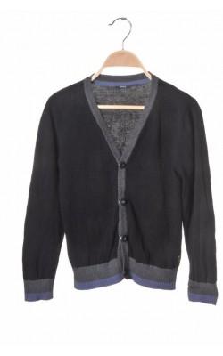 Cardigan negru tricot fin Mexx, 10-11 ani