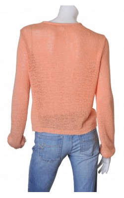 Cardigan orange Monki, marime L