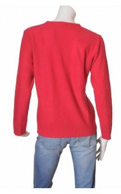 Cardigan rosu cu fermoar Hanna, marime XL