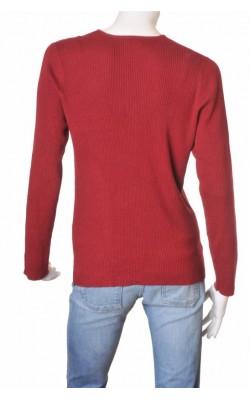 Cardigan rosu tricot reiat Lindex, marime XL