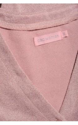 Cardigan roz cu fir metalic CBS Woman, marime 38