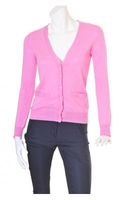 Cardigan roz lana merinos Cubus, marime 36/38