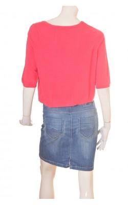 Cardigan roz Mexx, bumbac si modal, marime XL