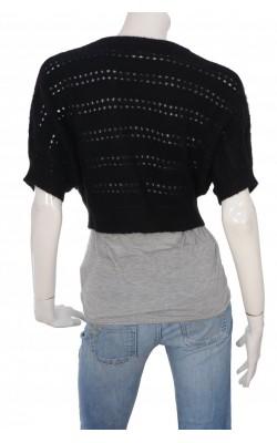 Cardigan tricot ajurat H&M, marime M