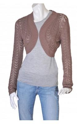 Cardigan tricot ajurat Lene V., marime M