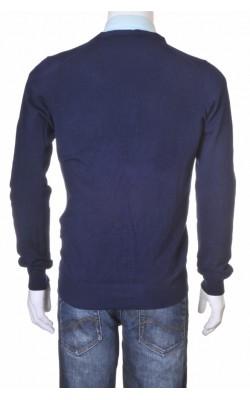 Cardigan tricot fin bleumarin Zara, marime M