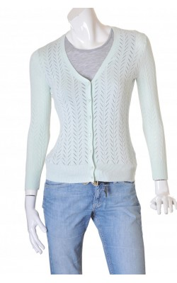 Cardigan tricot fin Pure by Alfred Sung, marime XS