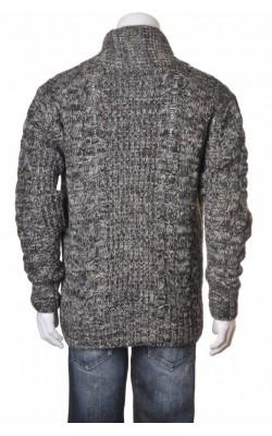 Cardigan True Rebel, amestec lana, marime XL