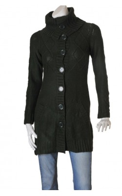 Cardigan verde Gina Tricot, marime XS