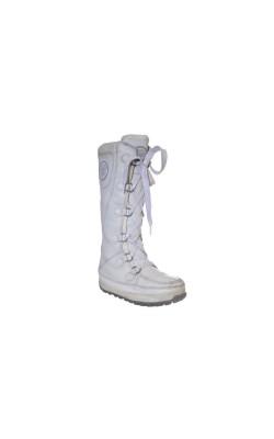 Cizme albe calduroase Timberland, marime 37