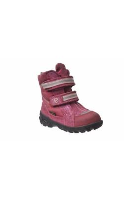 Cizme roz Ecco Gore-Tex, interior fleece, marime 22