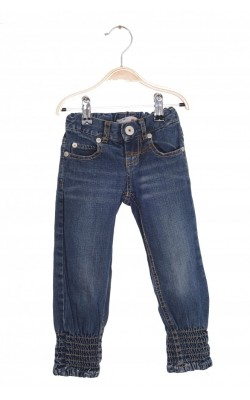 Colanti denim Name It, talie ajustabila, 2-3 ani