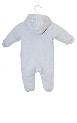 Combinezon jerseu captusit cu polar Zara, 6-9 luni