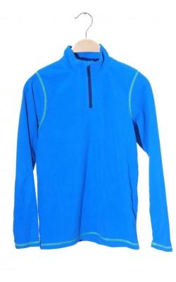 Fleece albastru Line One, 11-12 ani