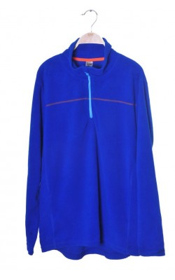 Fleece albastru Line One, marime L