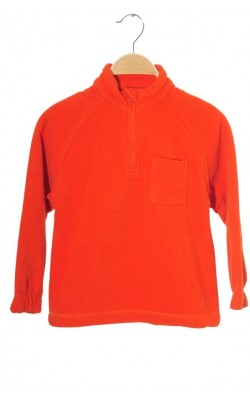 Fleece oranj Oviesse, 5-6 ani