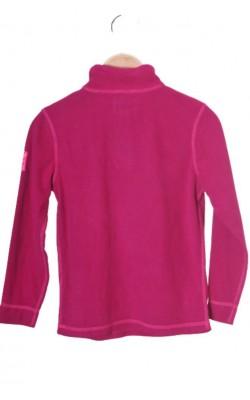 Fleece roz Designed in Norway, 7-8 ani