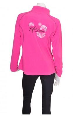 Fleece roz Life Time, marime XL