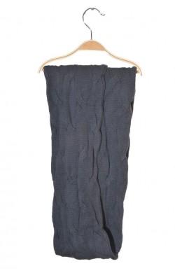 Fular circular tricot cu torsade Kappahl