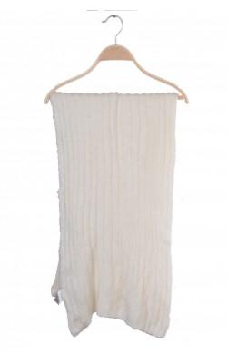 Fular lung din tricot reiat alb H&M