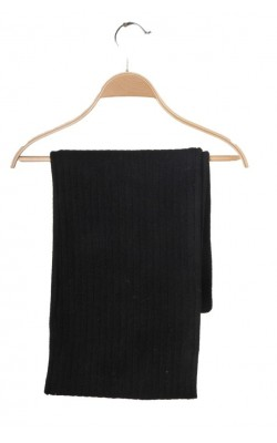 Fular negru Lonsdale, tricot si polar