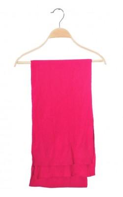 Fular roz United Colors of Benetton, 210 cm