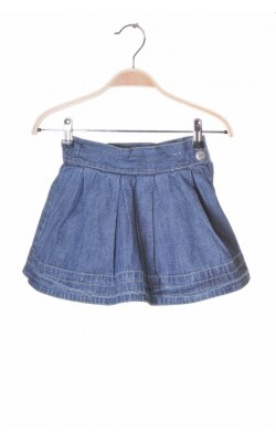 Fusta cloche denim subtire Pretty Sille, 3-4 ani